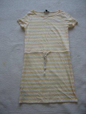 Mango Dress white-yellow