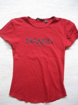 mango mng t-shirt rot gr. xs 34