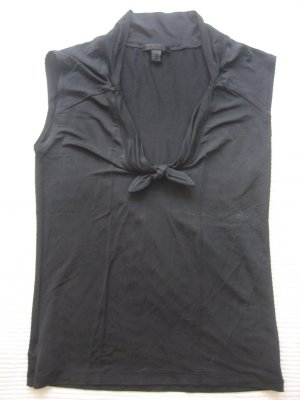 mango mng top bluse schwarz neu gr. s 36