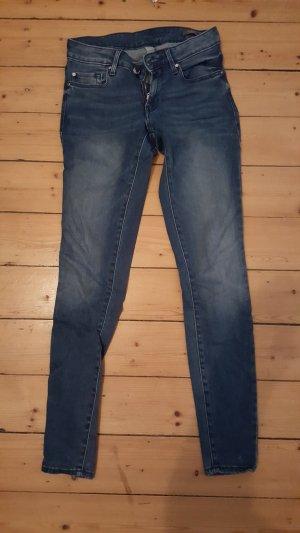 Mango Olivia dunkelblau Gr. 36 Jeans Hose