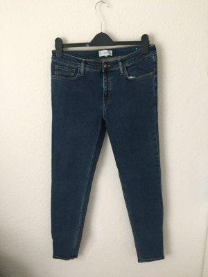 Mango Olivia High Waisted Skinny Jeans Dunkelblau