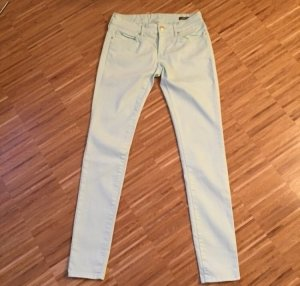 Mango: Pastellfarbene Jeans in zarten Grün - Modell Paty Super Slim Gr. 38 NEU