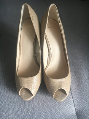 Mango Peeptoe Schuhe