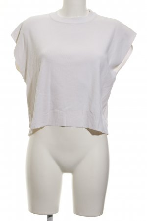 Mango Premium Cardigan en maille fine blanc style décontracté