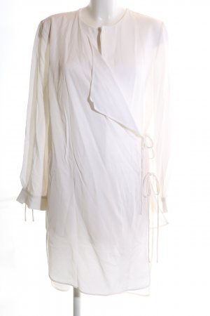 Mango Premium Wickelkleid weiß Elegant