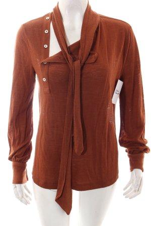 Mango Sweater bruin casual uitstraling