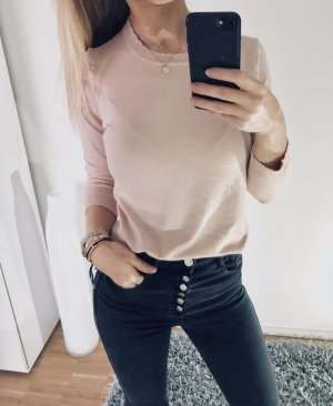 Mango Pullover Rose S 36 Strick