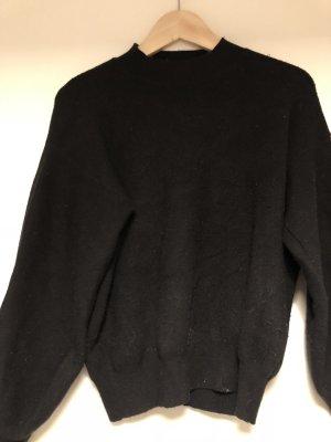 Mango Pullover schwarz