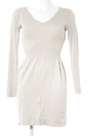 Mango Sweater Dress beige casual look