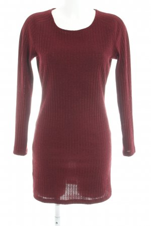 Mango Sweater Dress carmine casual look