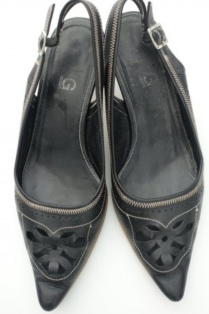 Mango Pumps black leather
