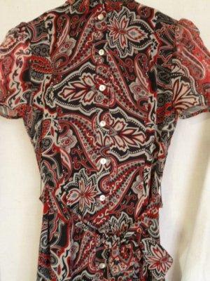 Mango Reinseiden-Blusenkleid Business-Look  *neu mit Etikett Gr. XS fällt aus wie DE Gr.  34/36