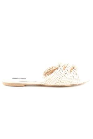 Mango Riemchen-Sandalen nude Casual-Look