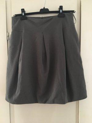 Mango Suit Gonna a palloncino grigio-grigio scuro Cotone
