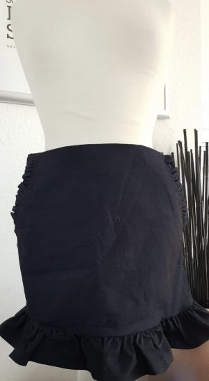 Mango Mini rok donkerblauw