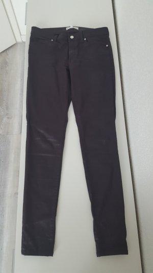 Mango Röhren Jeans (beschichtet)
