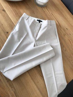 Mango Suit Drainpipe Trousers oatmeal