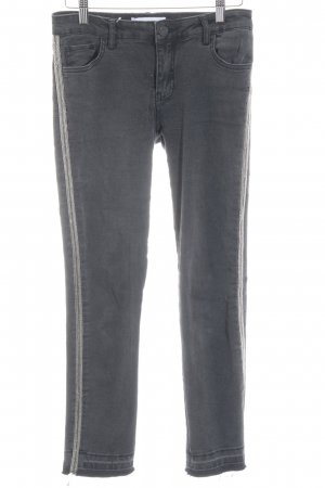 Mango Tube jeans donkergrijs casual uitstraling