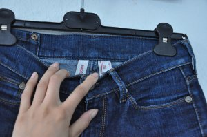 MANGO Röhrenjeans, Skinny Jeans, dunkelblau, Blogger, Klassisch
