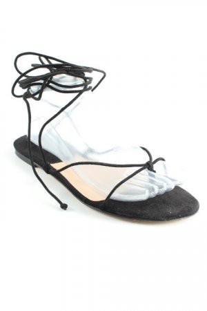 Mango Roman Sandals black casual look