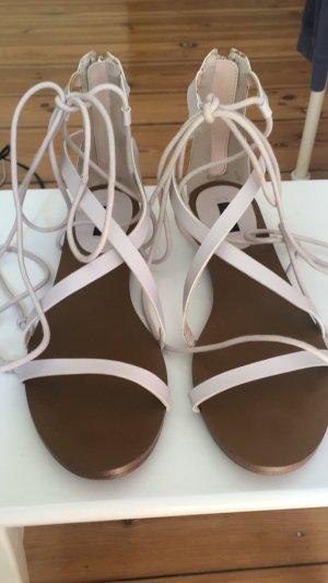 Mango Sandalias romanas marrón-nude