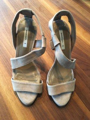 Mango Sandaletten beige 36