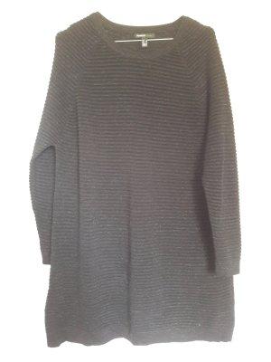 Mango schicker Oversize Pullover mit Glitzerfäden Lurex schwarz Gr. S