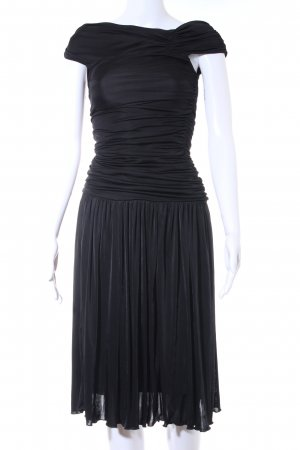 Mango Schlauchkleid schwarz Elegant