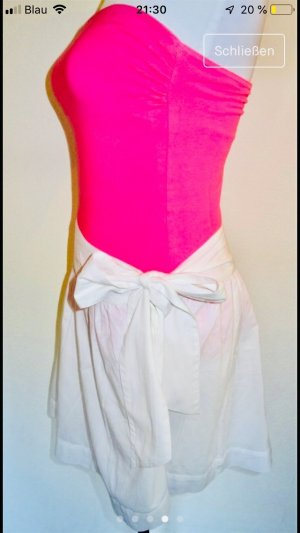 Mango Midi Skirt white