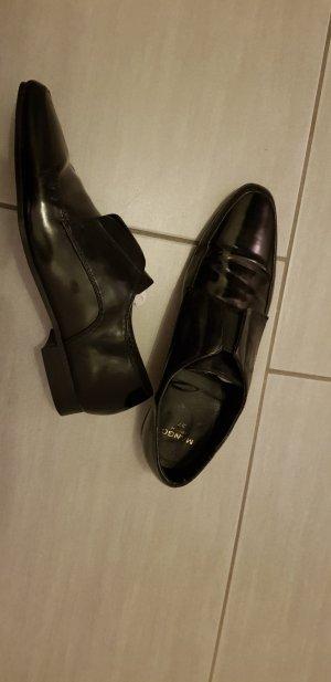 Mango Schuhe schwarz gr.37 leder