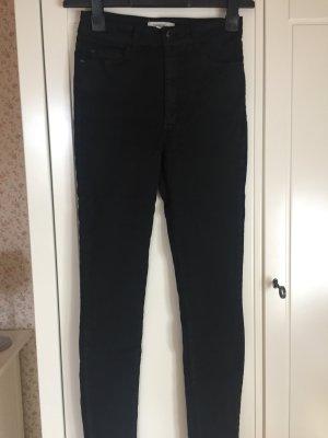 Mango schwarze Jeans
