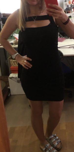 Mango Suit Tube Dress black viscose