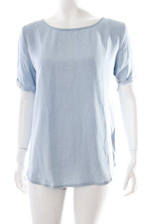 Mango Shirt hellblau