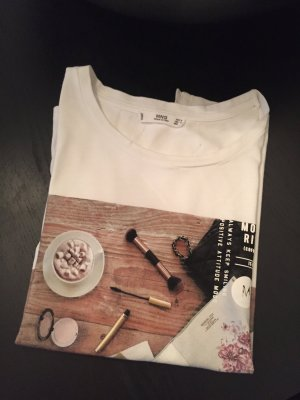 MANGO Shirt mit Print