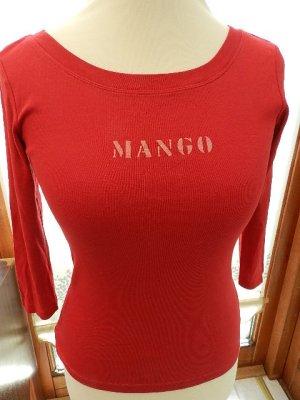 Mango Shirt - rot - Gr.M (38)