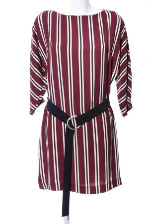 Mango Shirt Dress striped pattern business style