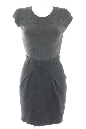 Mango Shirt Dress dark grey casual look