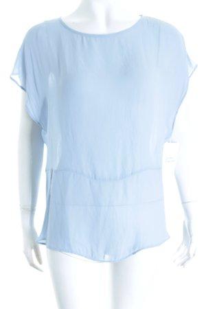 Mango Shirttunika himmelblau Knoten-Detail