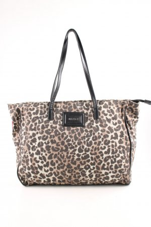 Mango Shopper allover print business style