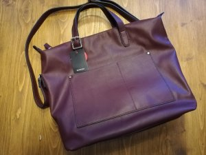 Mango Shopper dark red-bordeaux
