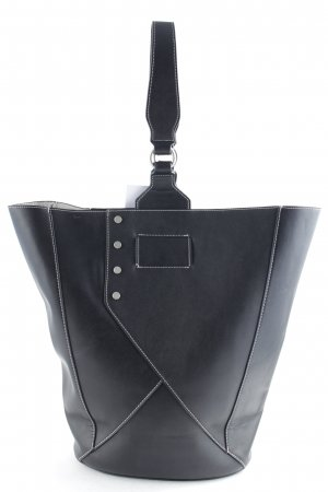 Mango Shopper schwarz Casual-Look