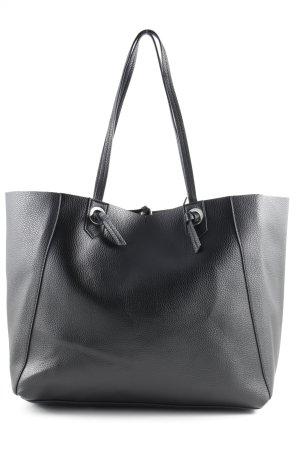 Mango Shopper black street-fashion look