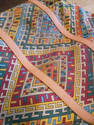 MANGO Shopper Tasche Strand Azteken Ethno Muster festival