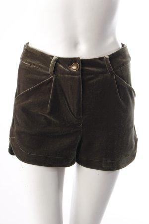 Mango Shorts aus Samt