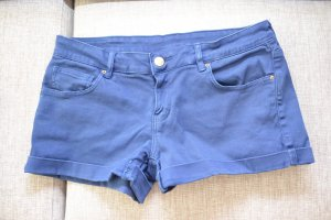 Mango Shorts in blau Gr. M