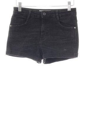 Mango Shorts negro look casual