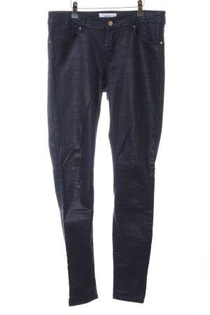 Mango Jeans skinny nero stile casual