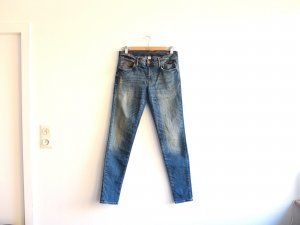 Mango Skinny Jeans 40 blau used look Gr. 40 low waist Modell Arizona