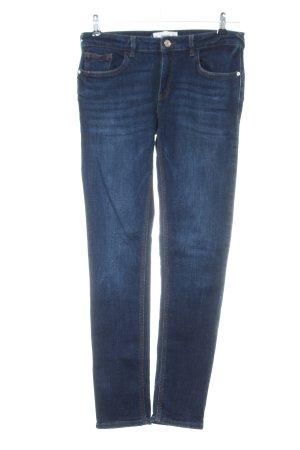 Mango Jeans skinny bleu style décontracté