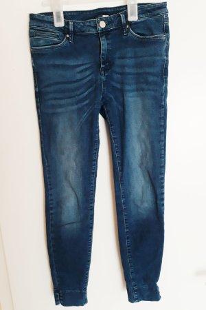 Mango Skinny Jeans blau